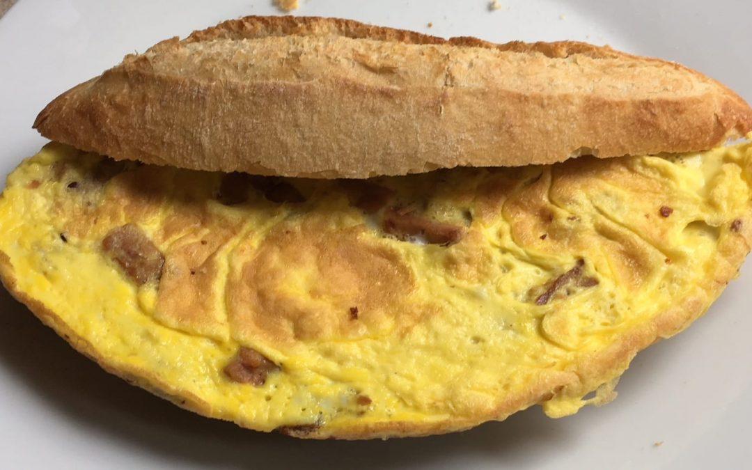 'Spek' omelet