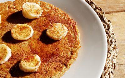 Banana high-protein pannenkoek