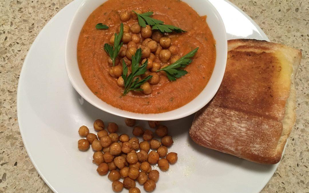 Kikkererwten masala soep